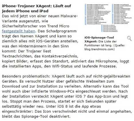 Gefährlicher iOS-Trojaner in Umlauf: Kein iPhone & iPad ist sicher | Apple, Mac, iOS4, iPad, iPhone and (in)security... | Scoop.it