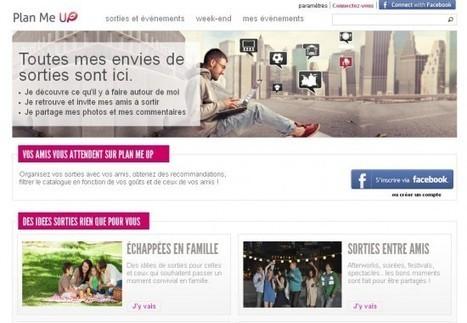 Plan Me Up, une start up française sélectionnée par Facebook | PressMyWeb | web 2.0, emarketing, ecommerce, nouvelle technologie | Nouveaux models de l'évolution de la société de consommation | Scoop.it