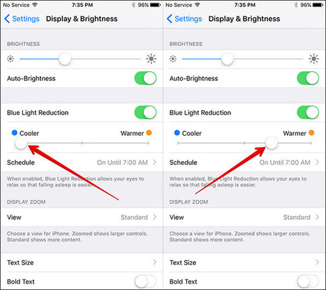How to Enable or Disable Night Shift Mode in iOS 9.3 on iPhone/iPad | iPhone and iPad How-tos | Scoop.it