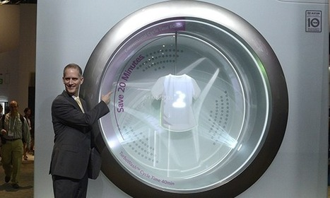 LG's texting washing machine? Tech firms are asking the wrong questions | Technology | Scoop.it