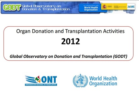 Global Observatory on Donation & Transplantation (GODT) | Organ Donation & Transplant Matters Resources | Scoop.it