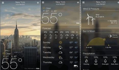 Yahoo! presenta aplicación del Tiempo con fotos de Flickr mostrando la ciudad en estos momentos   Uso inteligente de las herramientas TIC   Scoop.it