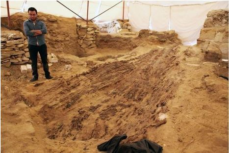 Well-Preserved Boat Unearthed at Abusir - Archaeology Magazine | News in Conservation | Scoop.it