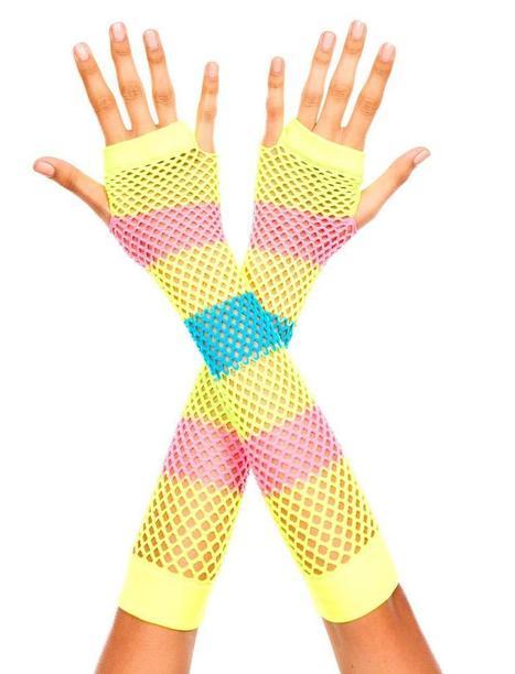 Rainbow Arm Warmers - LegsAppeal.com | legsappeal | Scoop.it