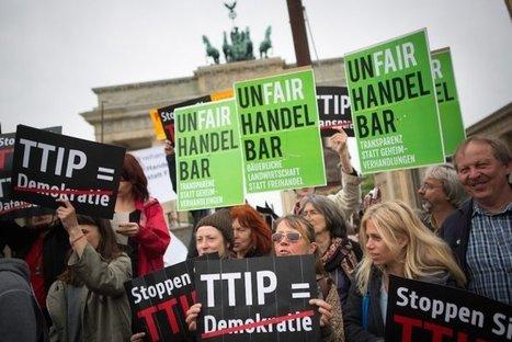 Tafta : les citoyens allemands mobilisés par milliers @Reporterre | Droit | Scoop.it