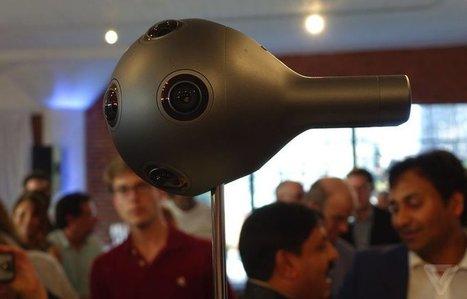 Nokia dévoile une caméra à 360 degrés dédiée à la réalité virtuelle - Clubic   UseNum - Technologies   Scoop.it