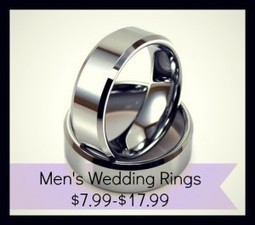 Wedding Rings for Men, $7.99 Shipped :: Southern Savers | Wedding Rings Alpharetta | Scoop.it