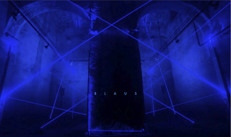radial and blaus - audio-visual light structures by MID and playmodes | Social Comunications Today | Scoop.it