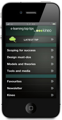 Elearning Top Tips app for iPhone (it's free!) | Carpe Diem Learning Solutions | Scoop.it