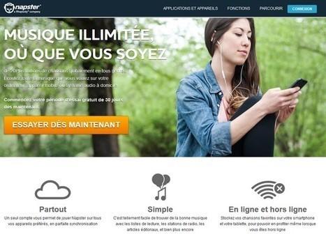 Le service de streaming musical Napster débarque en Belgique   Art & Communication   Scoop.it