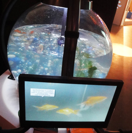 Museum Virtual Worlds | MIND THE FISH–Augmented reality exhibit reveals aquatic creatures' inner thoughts | Augmented Reality  - Augmented Advertising | Scoop.it