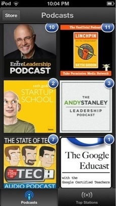 The Electric Educator: Top Podcasts for Educators | Hudson HS Learning Commons | Scoop.it
