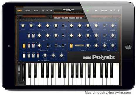 Korg announces iPolysix App for iPad, recreates classic analog polyphonic ... - Music Industry Newswire (press release) | iPad apps for music | Scoop.it