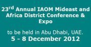 23rd Annual IAOM Mideast and Africa District Conference & Expo | Altınbilek | Scoop.it