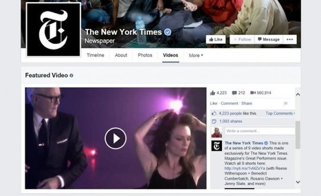 Facebook Pages Are Getting an Updated Video Section | Social Media | Social Media and its influence | Scoop.it