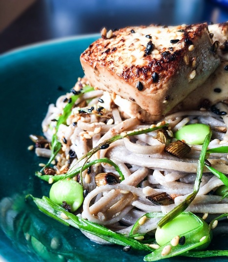 #HealthyRecipe //  Spring clean super soba noodles with tofu | French Culture - Cuisine, Wine and Dessert | Scoop.it