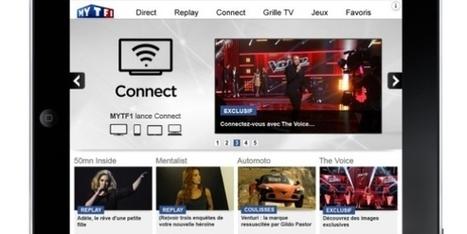 TF1 lance une application sur les réseaux sociaux   Communication, socialmedia & médias   Scoop.it