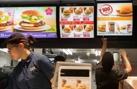 Are bargain burgers quickening Japan's deflationary tailspin? | The Japan Times | La cuisine japonaise | Scoop.it
