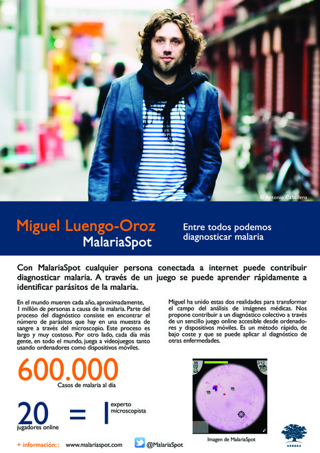 Conoce a Miguel Luengo-Oroz | Presentación #FellowsAshoka | Scoop.it