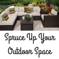 5 Easy Ways to Spruce Up Your Outdoor Living Area - Design Furnishings   Outdoor Furnishings   Scoop.it
