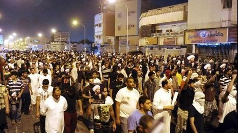 Saudis protest in Riyadh again | From Tahrir Square | Scoop.it