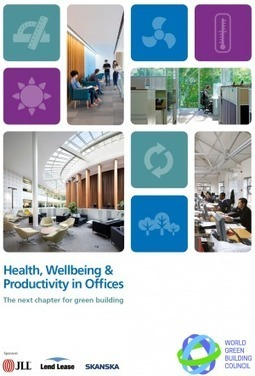 Health, Wellbeing and Productivity in Offices | interfaces4growth | Interfaces for growth | Scoop.it