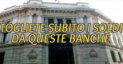 CONDIVIDETE OVUNQUE!! SE AVETE SOLDI IN QUESTE BANCHE VI CONVIENE LEGGERE E IN CASO CONDIVIDERE PER TUTTE QUELLE PERSONE CHE SONO ALL'OSCURO DI TUTTO!   I.W.T.T. vs. Anatocismo ed Usura Bancaria   Scoop.it