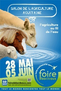 Salon de l'Agriculture Aquitaine à Bordeaux du 28 mai au 5 juin | Agritourisme et gastronomie | Scoop.it