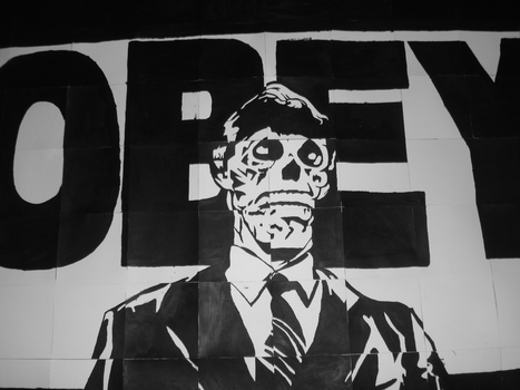 OBEY GIANT - WORLDWIDE PROPAGANDA DELIVERY | One Man's Personal Interest: An Exploration of Street Art and Propaganda | Scoop.it