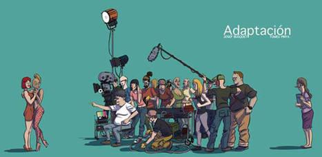 'Adaptación', un divertido cómic sobre la relación entre cine y literatura - RTVE.es   Lectura y libros   Scoop.it