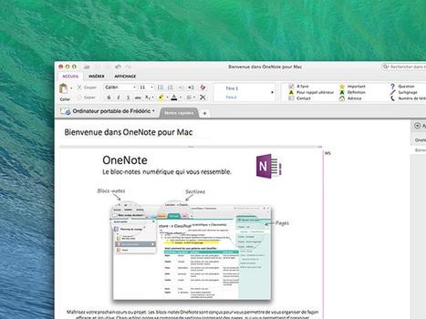 OneNote : des partenariats avec Feedly, IFTTT, Brother et Doxie - Fredzone | Evernote, gestion de l'information numérique | Scoop.it