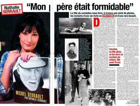 """Michel Serrault par Nathalie Serrault, un livre qui permet de retracer """"une vie riche en émotions""""   Nathalie Serrault   Scoop.it"""