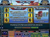 Big Rig 5 reel slot by Nuworks – game review   Online casino games   Scoop.it