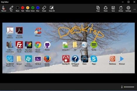 Web2-Unterricht: Snip das neue Screenshot Programm aus der Ideen Garage von Microsoft | Schule | Scoop.it