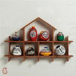 Wallmount Set of Miniature Pots   Home & Kitchen   Scoop.it