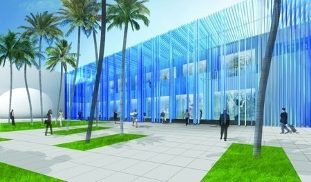 Sou Fujimoto's Mixed-Use Building Incorporates a 'Structural Waterfall' for Miami's Design District | green streets | Scoop.it