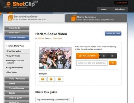 Shotclip – Un editor de vídeo online con guías para principiantes | ICT hints and tips for the EFL classroom | Scoop.it