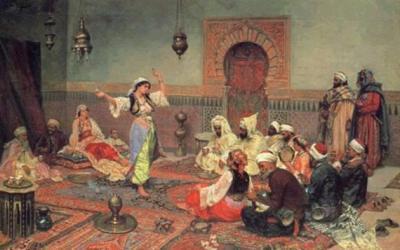 Danza árabe en la pintura y lafotografía | Contemplación | Scoop.it