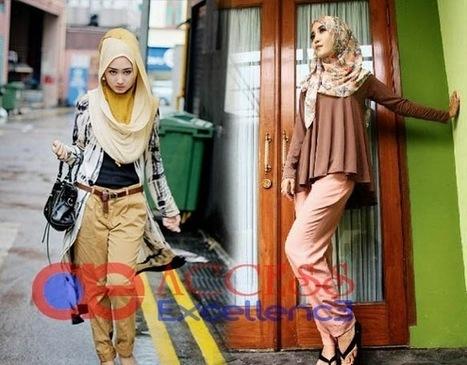 Model Pilihan Baju Muslim Berhijab Modern 2016 | ENTERTAINMENT | Scoop.it