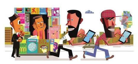 En hipster dans le texte | Les médias face à leur destin | Scoop.it