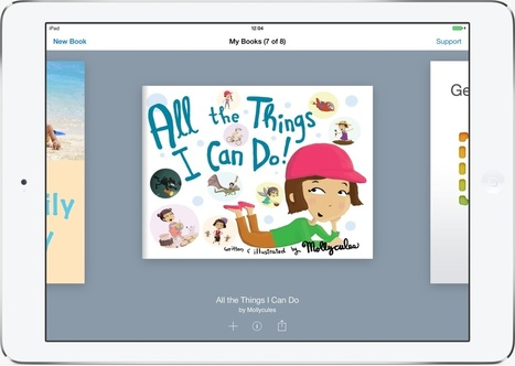 Book Creator for iPad - create and publish ebooks to the iBookstore | Digital Storytelling Tools, Apps and Ideas | Scoop.it