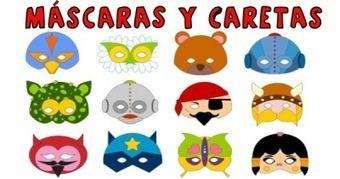 Supercolección de 130 máscaras y caretas para carnaval totalmente gratis | ARRAKASTA | Scoop.it