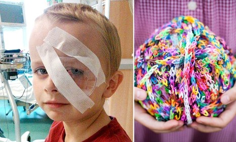 Boy of 7 is blinded by loom band: Playground craze needs a safety warning says ... - Daily Mail | Optometry | Scoop.it