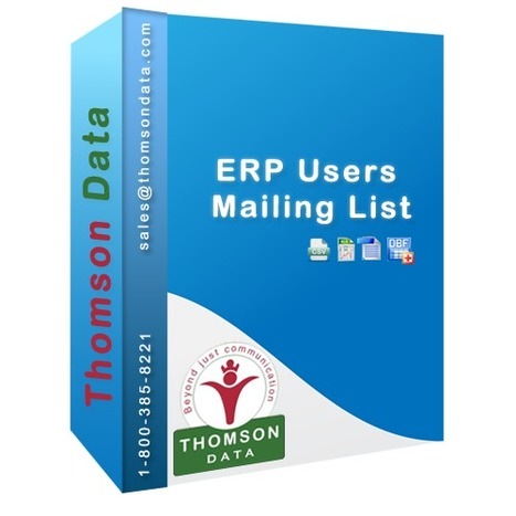 ERP Users Email List - ERP Companies List - Thomson Data | Technology Databases | Scoop.it