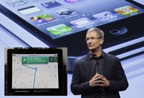 'Apple CEO Tim Cook Apologizes for Apple iOS6 Maps, Suggests You Download...Bing' | READ WHAT I READ | Scoop.it