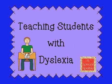 A Special Sparkle: Teaching Kids with Dyslexia   Disabilities   Scoop.it