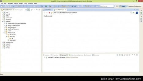 Introduction to JSP (Java Server Pages) - Blog.myCampusNotes.com | Windows 8, Web development | Scoop.it