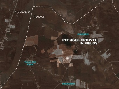 Astonishing time-lapse satellite imagery shows rapid growth of refugee camps | More Commercial Space News | Scoop.it