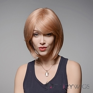 Gorgeous Short Capless Bob Style Remy Human Hair Hand Tied -Top Emmor Wigs : fairywigs.com | African American Wigs | Scoop.it