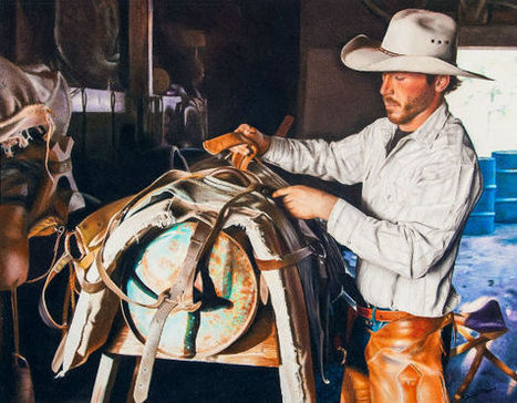 Champion Artwork at the 2013 Houston Livestock Show and Rodeo | The Art of the Horse | Scoop.it
